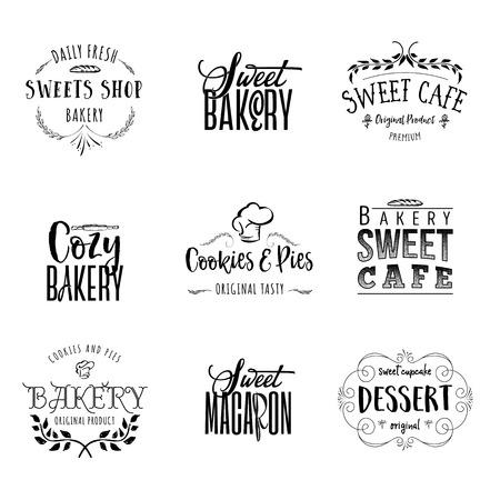 Abzeichen für kleine Unternehmen - Süßbäckerei.