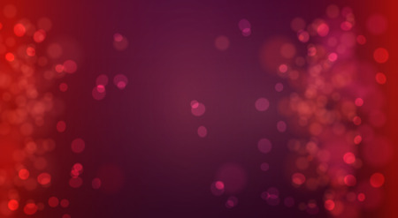Bokeh background defocused lights. Glowing techno abstract background
