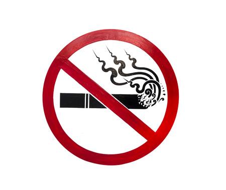 pernicious: No smoking sign  Stock Photo