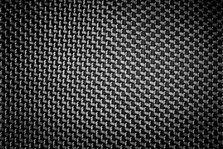 black textured background: black fabric textured background Stock Photo