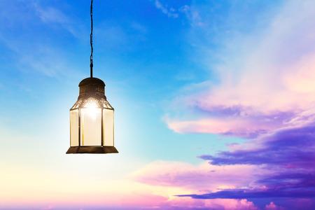 green lantern: Ramadan Kareem celebration
