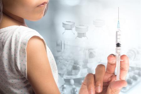 vacunación: Vacunación  Foto de archivo