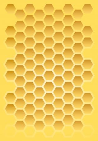 turn yellow: Comb Illustration