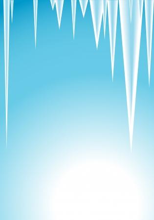 illustration - icicles