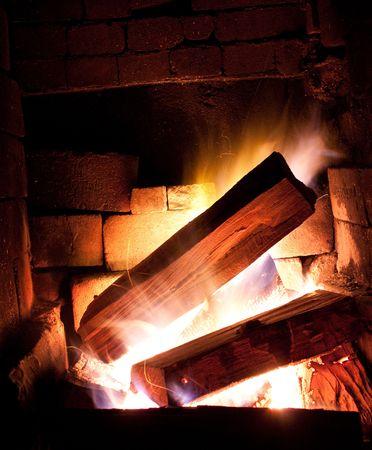 Warm Fire place photo