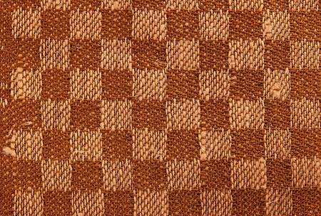 Texture fabric linen brown Stok Fotoğraf - 13070533