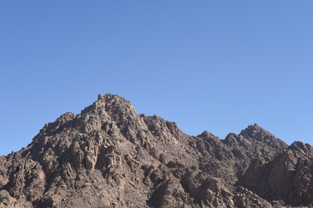 Mountain ranges in the deserts