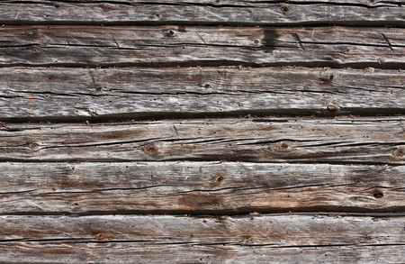 Weathered planks of wooden wall Stock Photo - 6949791