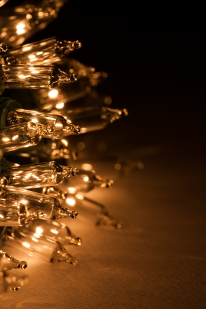 クリスマス ホリデー ライト 写真素材