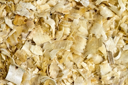 Wood chips and sawdust texture photo