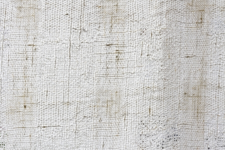 White natural linen canvas texture