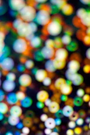 Blurred holiday color light background photo