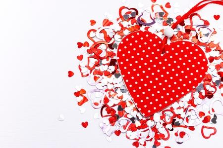 Red Valentine heart Stock Photo - 17023609