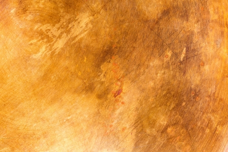 Stained copper metal texture background photo