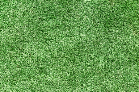 Closeup view of artificial grass field photo