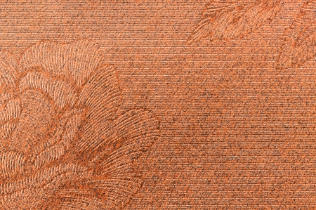 High resolution red paper with embossed pattern photo