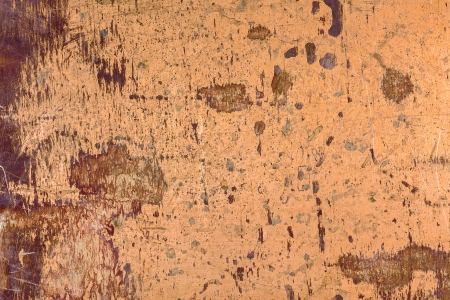 Stained and scratched brass metal texture photo