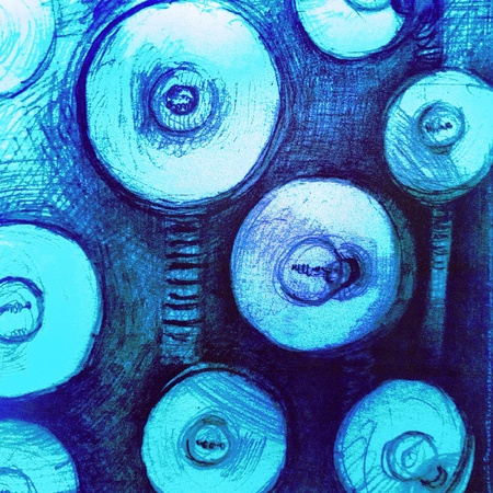 artwork: Abstract artistic drawing