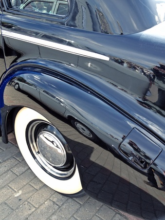 chrome: Shiny vintage car