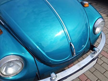 chrome: Vintage car