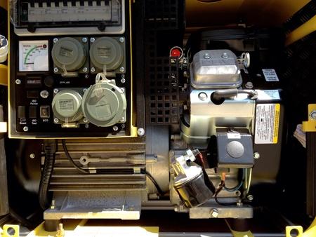 coche de bomberos: Panel de control del coche de bomberos Foto de archivo