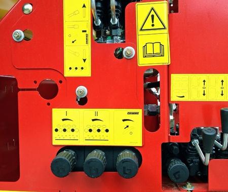 industrieel: Industriële bedieningspaneel apparatuur