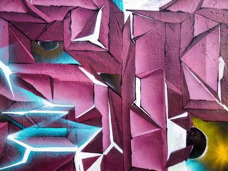 detail: Abstract graffiti