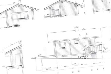 housing development: house plan blueprints for new housing development architectural background
