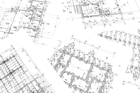 architectural project architectural plan construction plan architectural background Stock fotó