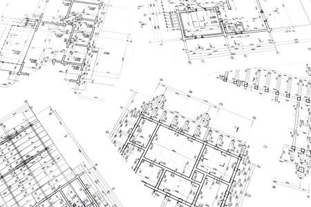 Plan De Maison Modle Architectural Drawing Partie Du Projet