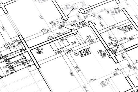 huis plannen en tekeningen architectonische blauwdrukken bouwplan