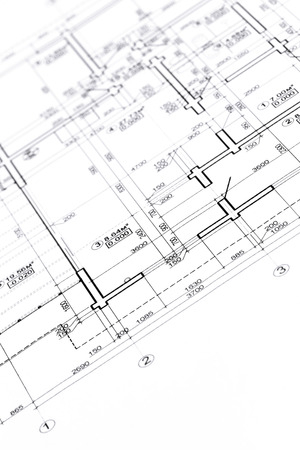 Engineering drawing stock photos royalty free engineering drawing blueprint floor plans engineering and architecture drawings malvernweather Images