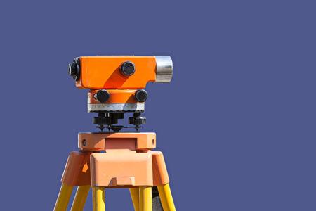 teodolito: agrimensura teodolito equipos en el sitio de construcci�n