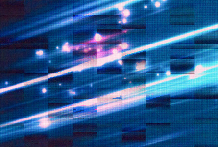 the light emitting: abstract RGB Light Emitting Diodes screen panel background
