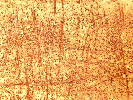 industrial: Rusted and scratched metal texture background
