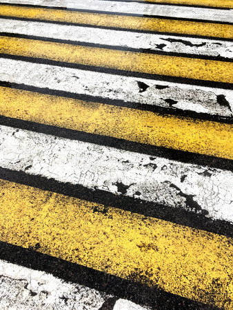 road marking: pedestrian crossing with road marking abstract background
