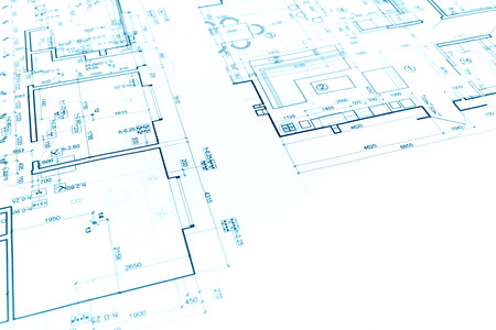 Architectural project floor plan blueprints construction plans floor plan project technical drawing construction blueprint background photo malvernweather Choice Image