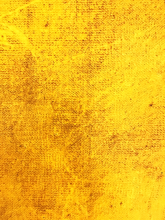 canvas background: abstract textured yellow hand painted canvas background