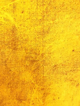abstrakt gelb gemasert Hand bemalte Leinwand Hintergrund