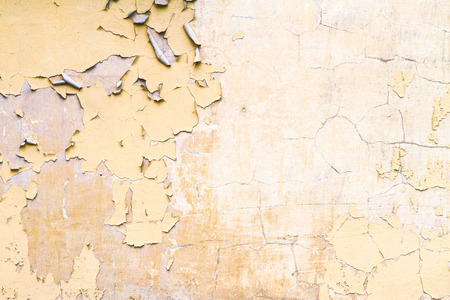 damaged cement: colorful damaged plaster or cement wall old texture as background