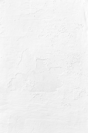textured: painted white plaster wall textured background closeup