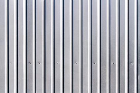 siding: corrugated grey fence steel siding background texture