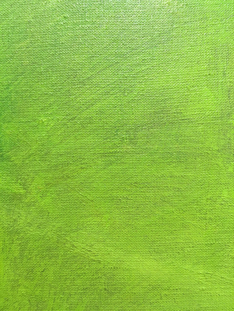 abstract hand painted bright green canvas background Stock Photo