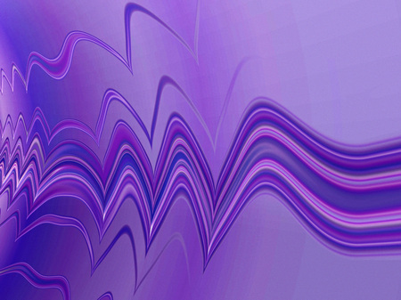 abstract fractal background with purple curved lines