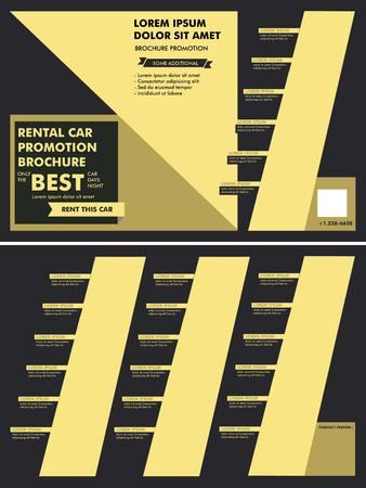 rent: Car Rent Brochure