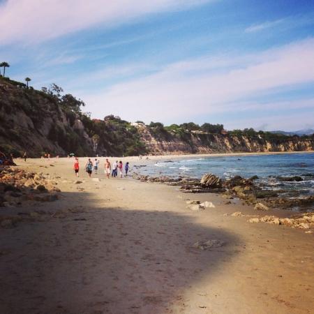 malibu: Malibu point dume beach.