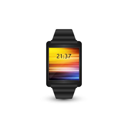smart: Smart watch vector illustration. Illustration