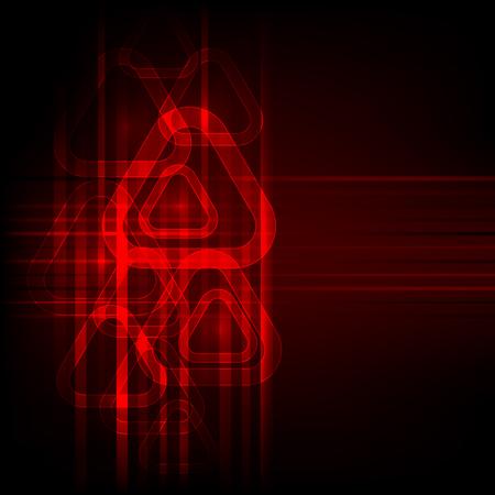 Abstract vector technology background. Illusztráció