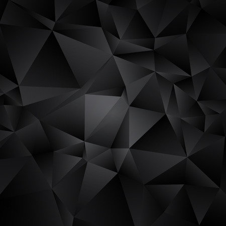 consisting: abstract black and white background consisting of triangles.
