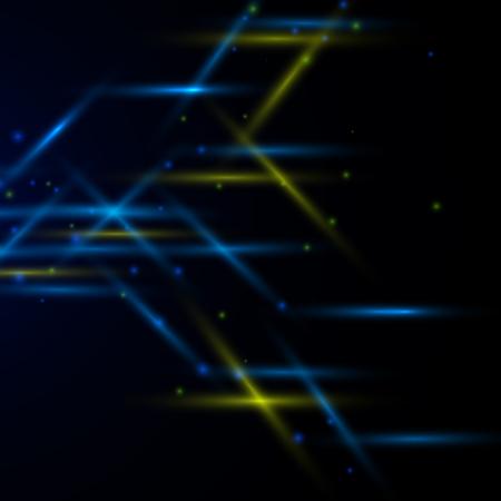 bright: Bright neon lines background.